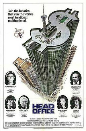 Head Office - Theatrical release poster