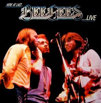 Here at Last... Bee Gees... Live - Image: Here At Last Bee Gees Live