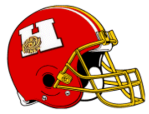 Honolulu Hurricanes - 1998 PIFL Honolulu Hurricanes away games helmet design