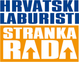Croatian Labourists – Labour Party - Image: Hrvatski Laburisti logo