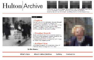 Getty Images - The Hulton Archive website (2001)