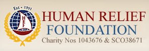 Human Relief Foundation - Image: Human Relief Foundation