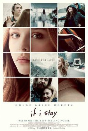 If I Stay (film) - Theatrical release poster