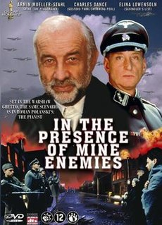 <i>In the Presence of Mine Enemies</i> (film) 1997 television programme