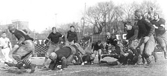 History of Iowa Hawkeyes football - Iowa plays Nebraska on November 25, 1916.