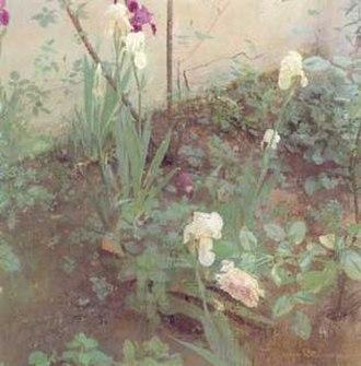 Antonio López García - Image: Irises&rosa