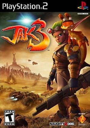 Jak 3 - North American PlayStation 2 box art