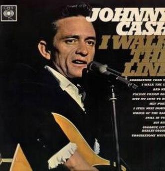 I Walk the Line (1964 album) - Image: Johnny Cash I Walk The Line