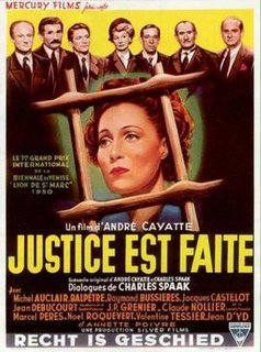 1950 film by André Cayatte