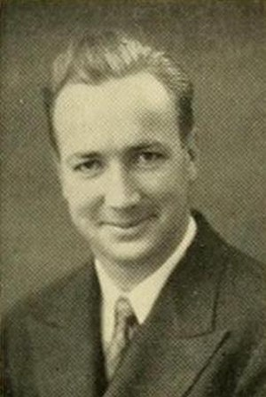 Kidd Brewer - Kidd Brewer pictured in The Rhododendron 1936, Appalachian State yearbook