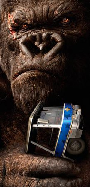 King Kong: 360 3-D - Promotional Poster