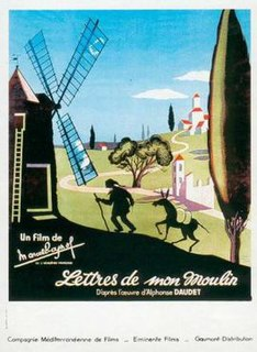 <i>Letters from My Windmill</i> (film) 1954 film by Marcel Pagnol