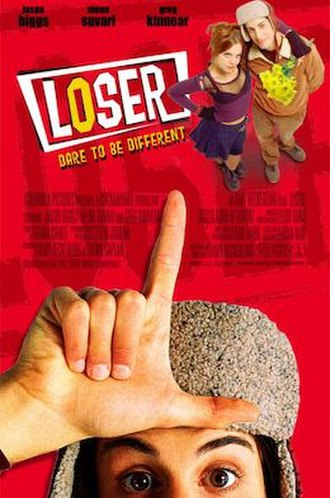 Loser (film) - Theatrical release poster