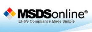 MSDSonline - Image: MSDS online logo