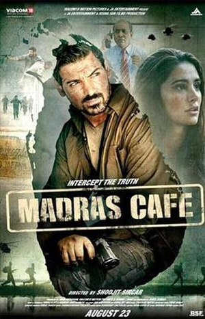 Madras Cafe - Theatrical release poster