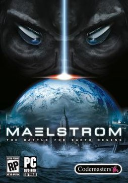 Maelstrom - North American box art
