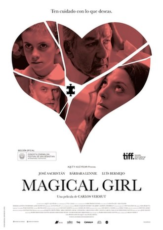 Magical Girl (film) - Theatrical release poster