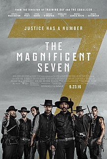 <i>The Magnificent Seven</i> (2016 film) 2016 film directed by Antoine Fuqua
