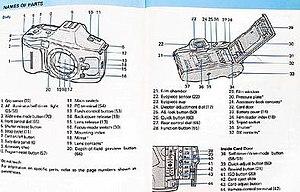 Minolta 9xi - Minolta 9xi body parts photo 1.b