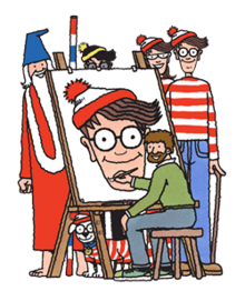 graphic relating to Where's Waldo Printable titled Wheres Wally? - Wikipedia