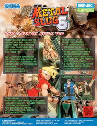 Metal Slug 6 - Image: Metal Slug 6