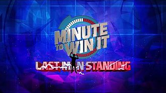 Minute to Win It (Philippine game show) - Minute To Win It - Last Man Standing (season 2) official title card