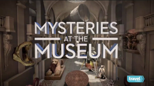 Mysteries at the Museum - Series title