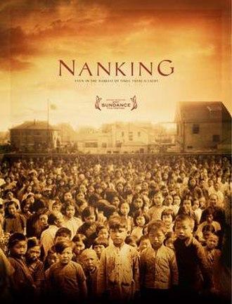 Nanking (2007 film) - Nanking film poster