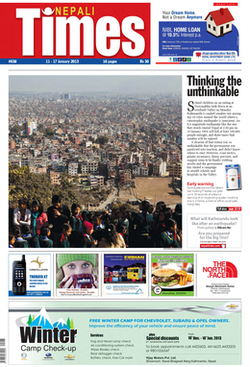 Nepali Times Front Page Png
