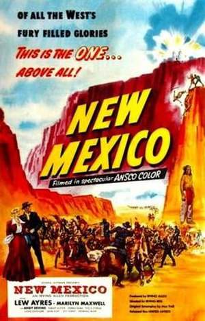 New Mexico (film) - Image: New Mexico Film Poster