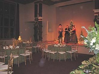 Preservation Park - Stage in Nile Hall.