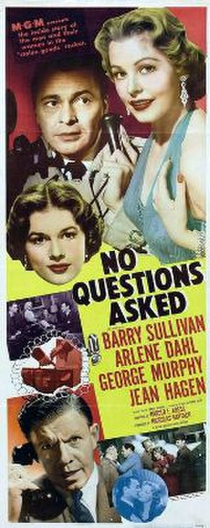 No Questions Asked (film) - Theatrical release poster