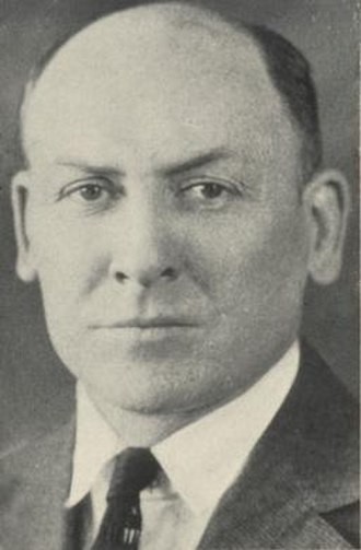Norman G. Wann - Wann pictured in Orient 1928, Ball State yearbook
