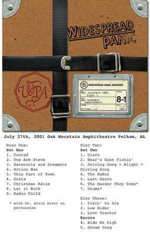 Oak Mountain 2001 - Night 1 - Image: Oakmountain 2001wiki