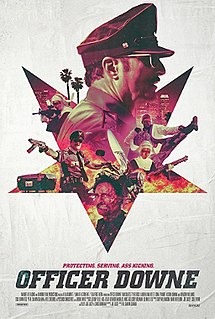 <i>Officer Downe</i> (film) 2016 film by Shawn Crahan