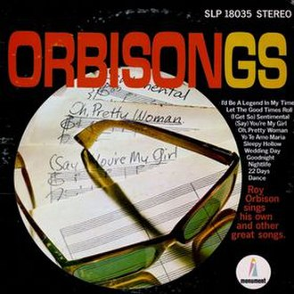 Orbisongs - Image: Orbisongs Roy Orbison