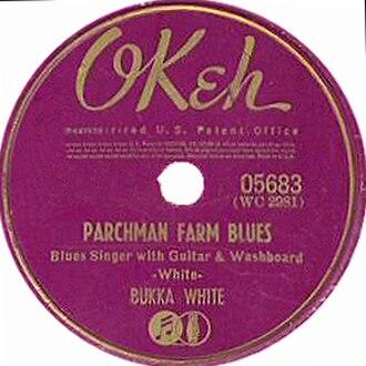Parchman Farm (song) - Image: Parchman Farm Blues single cover