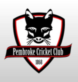 Pembroke Cricket Club - Image: Pembroke Cricket Club badge