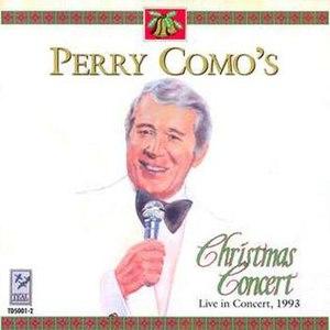 Perry Como's Christmas Concert - Image: Perry como christmas concert