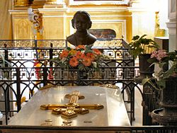 The tomb of Peter the Great in Peter and Paul Fortress.