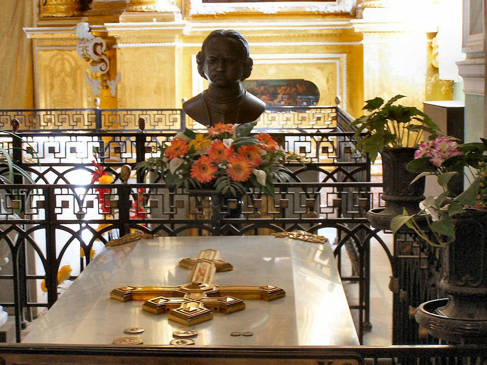 Peter the Great tomb