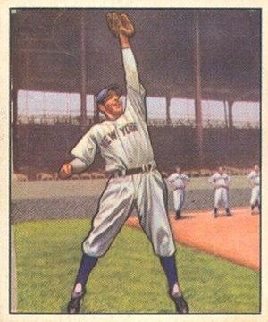 1950s Bowman - 1950 Bowman Phil Rizzuto