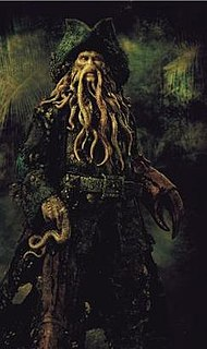 Davy Jones (<i>Pirates of the Caribbean</i>) fictional character
