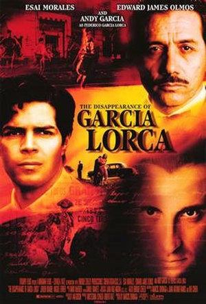 The Disappearance of Garcia Lorca - Theatrical release poster