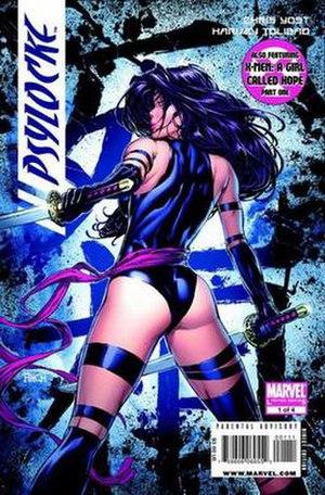 Psylocke - Image: Psylocke comic cover