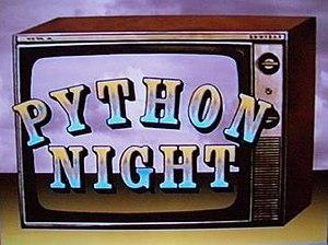 Python Night – 30 Years of Monty Python - Image: Python Night