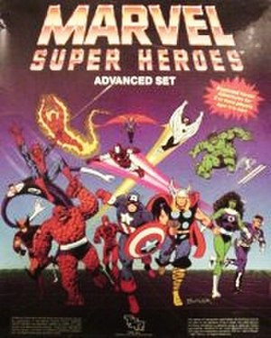 Marvel Super Heroes (role-playing game) - Image: RPG Marvel Super Heroes AS