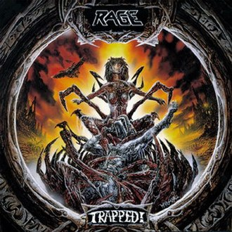 Trapped! (album) - Image: Rage trapped