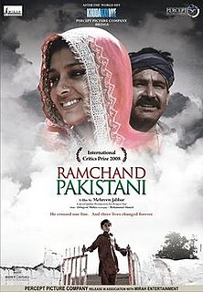 <i>Ramchand Pakistani</i> 2008 film by Mehreen Jabbar