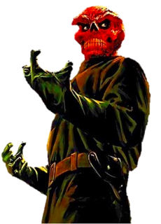 Red Skull Fictional character, a supervillain who appears in comic books published by Marvel Comics